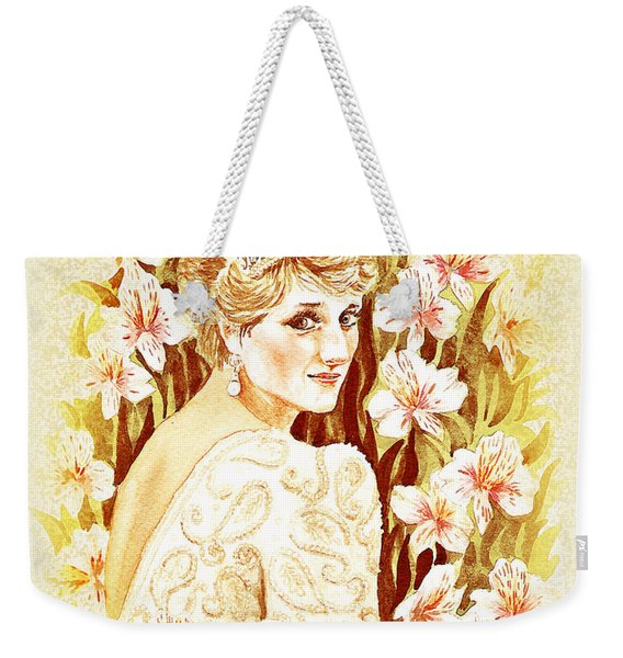 Princess Diana Weekender Tote Bag