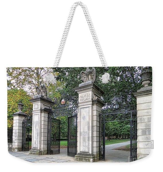 Princeton University Main Gate Weekender Tote Bag