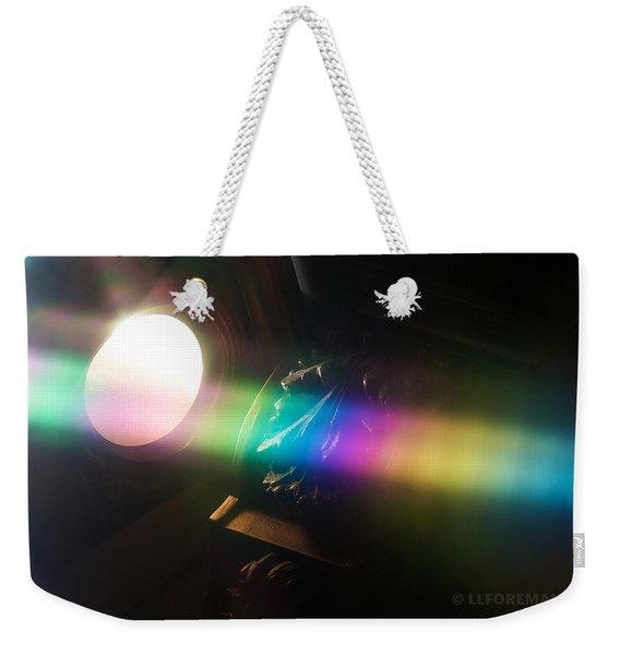 Prism Of Light Weekender Tote Bag