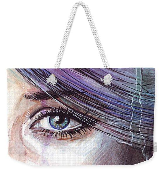Prismatic Visions Weekender Tote Bag