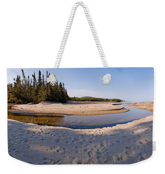 Weekender Tote Bag featuring the photograph Prisoners Cove   by Doug Gibbons