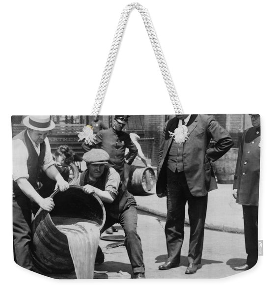 Prohibition In The Usa Weekender Tote Bag