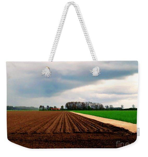 Promissing Field Weekender Tote Bag