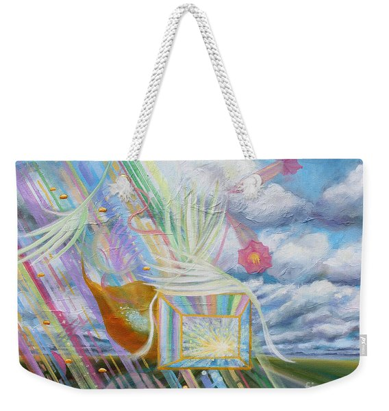 Prophetic Ms 39 Praise And The Festival Of Booths/feast Of Tabernacles Weekender Tote Bag