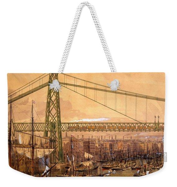 Proposed Railway Bridge Weekender Tote Bag