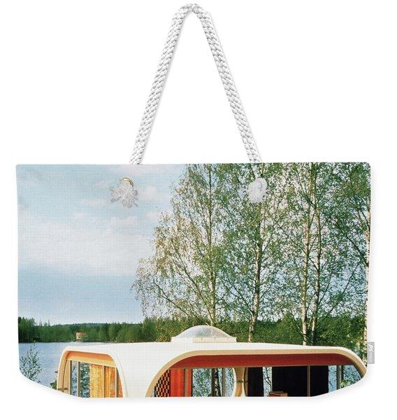 Prototype Of Polykem Molded House Weekender Tote Bag
