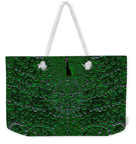 Proud As A Peacock Weekender Tote Bag