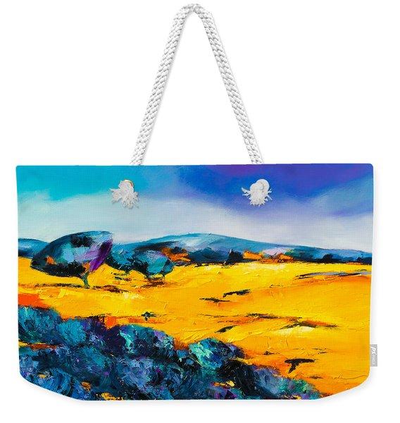 Provence Colors Weekender Tote Bag
