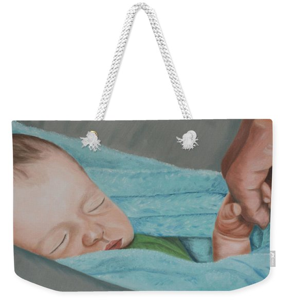 Psalm Four Eight Weekender Tote Bag