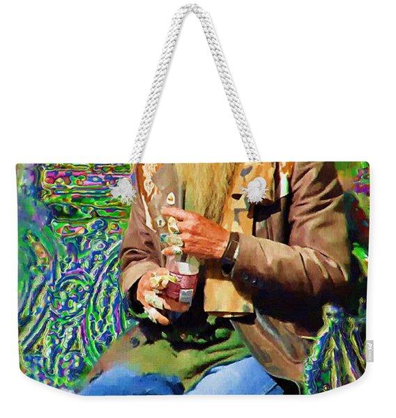 Psychedelic Day Dreams Weekender Tote Bag
