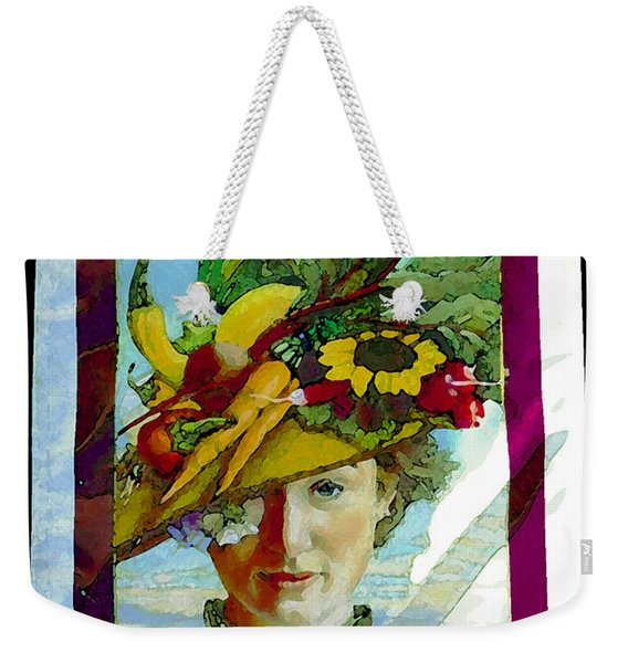 Port Townsend Banner Artwork Weekender Tote Bag