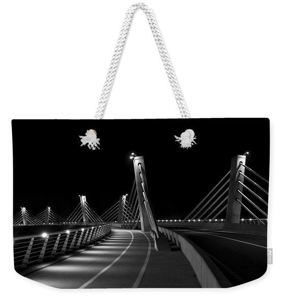 Ptuj Bridge Bw Weekender Tote Bag