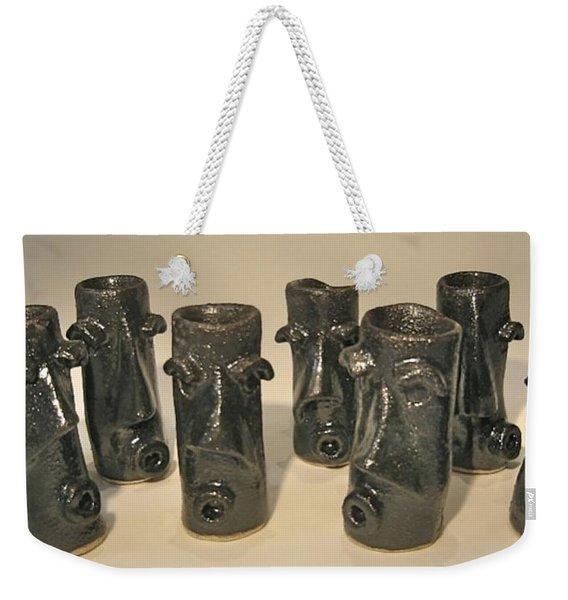 Pub Folk #1 Weekender Tote Bag