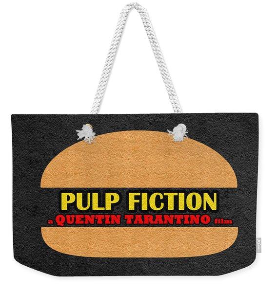 Pulp Fiction Weekender Tote Bag