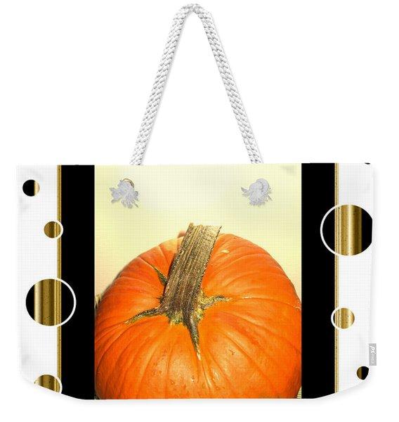 Pumpkin Card Weekender Tote Bag