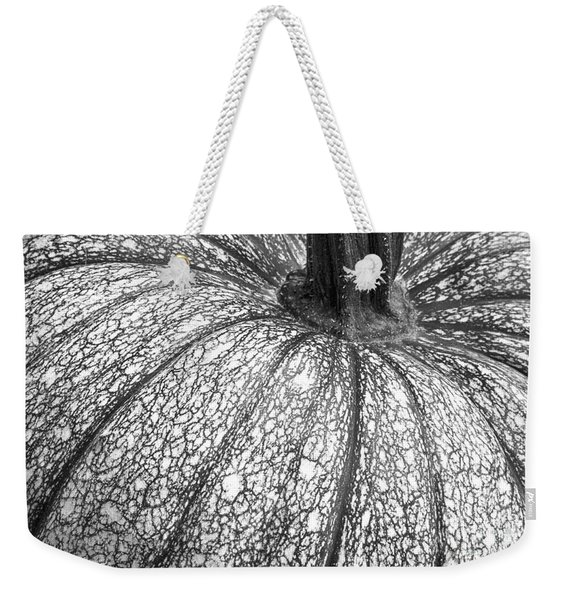 Pumpkin Pumpkin Black And White Weekender Tote Bag