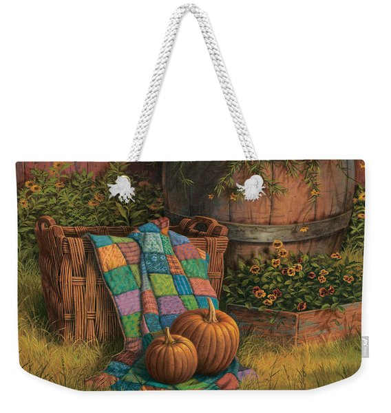Pumpkins And Patches Weekender Tote Bag