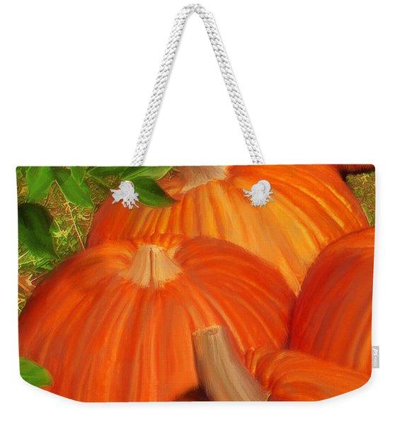Pumpkins Pumpkins Everywhere Weekender Tote Bag