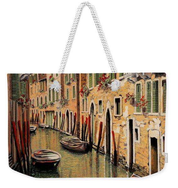 Punte Rosse A Venezia Weekender Tote Bag