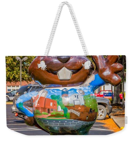 Punxsutawney Phil 2 Weekender Tote Bag