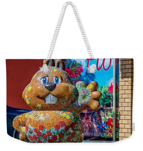 Punxsutawney Phil Weekender Tote Bag