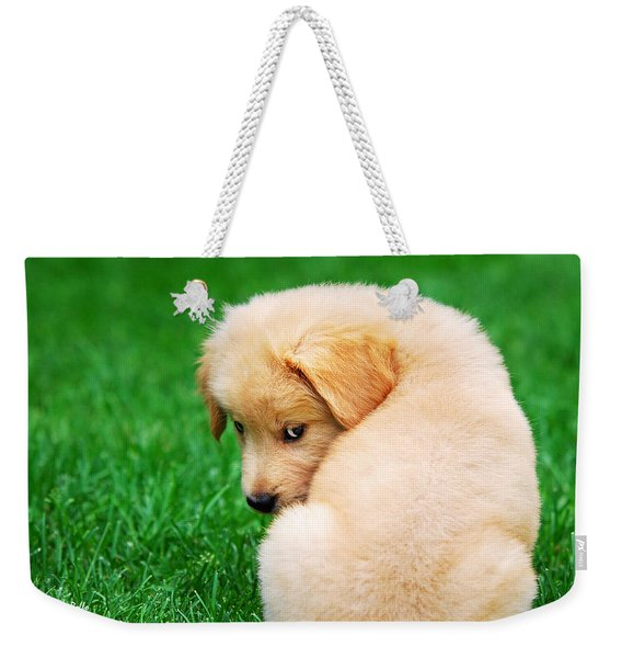 Puppy Love Weekender Tote Bag