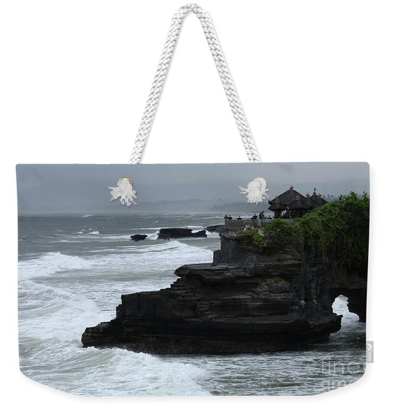 Pura Tanah Lot Bali Indonesia Weekender Tote Bag