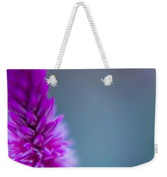Purple Blur Weekender Tote Bag