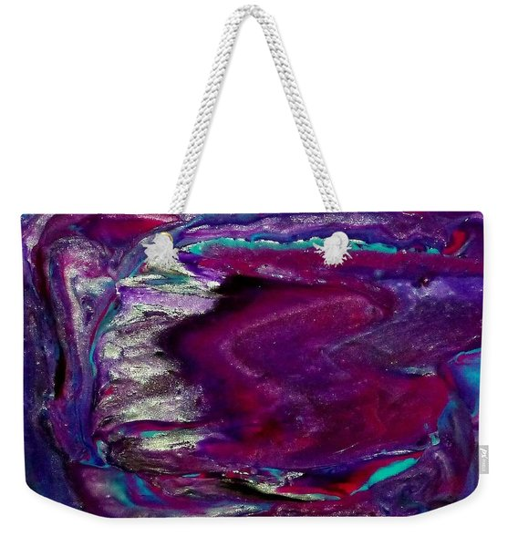 Purple Craze Weekender Tote Bag