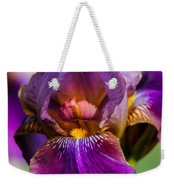 Purple Flag Weekender Tote Bag
