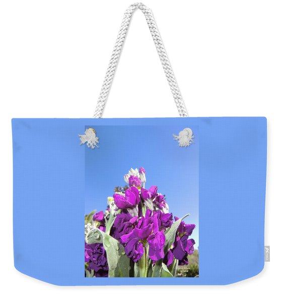 Purple Glow 2 Weekender Tote Bag