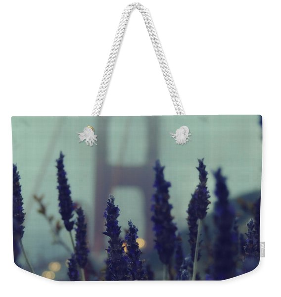 Purple Haze Daze Weekender Tote Bag