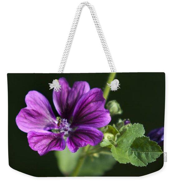 Hollyhocks Weekender Tote Bag