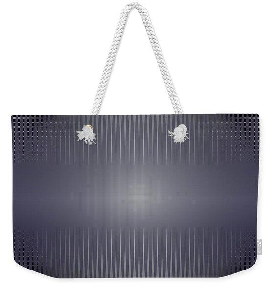 Purple Horizon Weekender Tote Bag