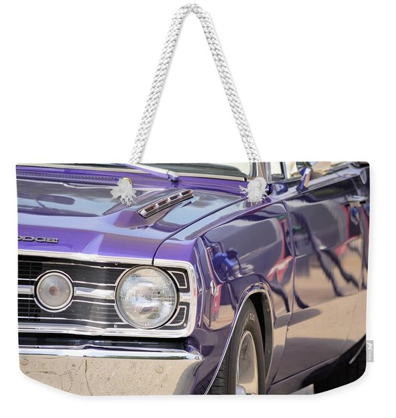 Purple Mopar Weekender Tote Bag