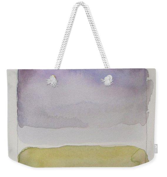 Purple Morning Weekender Tote Bag