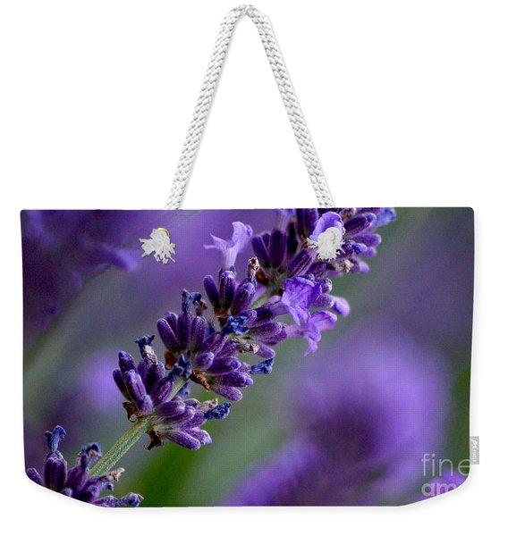 Purple Nature - Lavender Lavandula Weekender Tote Bag
