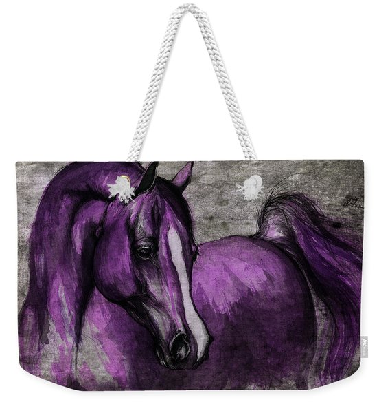 Purple One Weekender Tote Bag