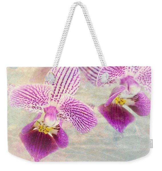 Purple Orchid 2 Weekender Tote Bag