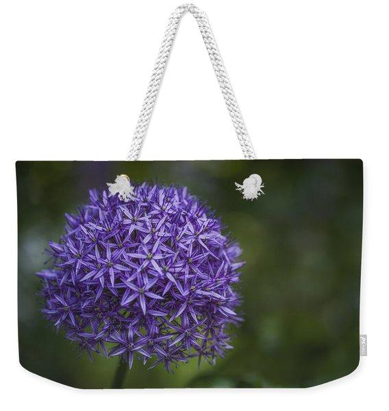 Purple Puff Weekender Tote Bag