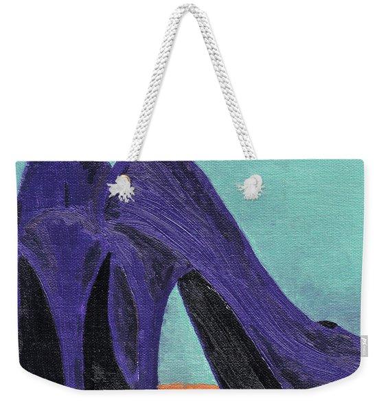 Purple Shoes Weekender Tote Bag