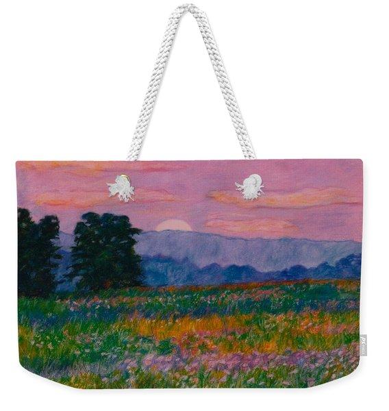 Purple Sunset On The Blue Ridge Weekender Tote Bag