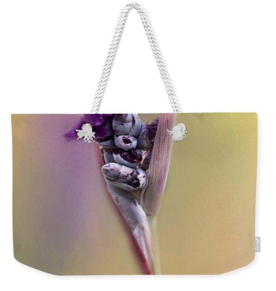Purplicious Weekender Tote Bag