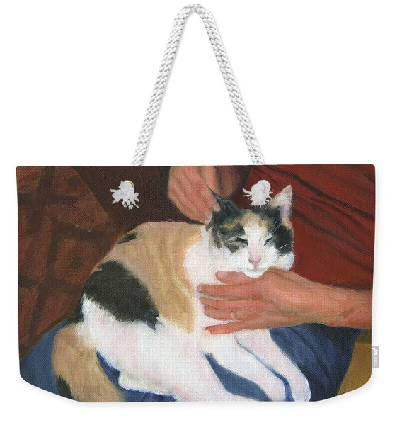 Purr-fectly Fine Weekender Tote Bag