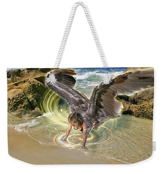 Put Your Trust In Him Weekender Tote Bag