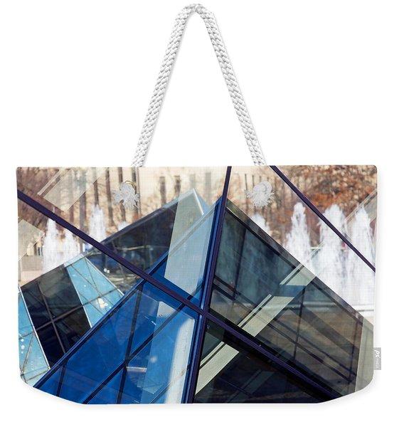 Pyramid Skylights Weekender Tote Bag