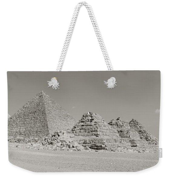 Pyramids Of Giza, Egypt Weekender Tote Bag