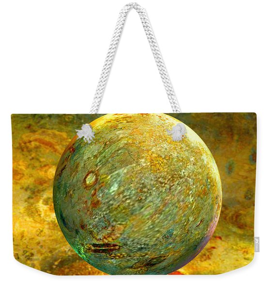 Quantum Soul...orb Of Light Weekender Tote Bag
