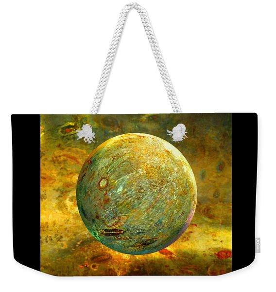 Quantum Soul...orb Of Light Weekender Tote Bag