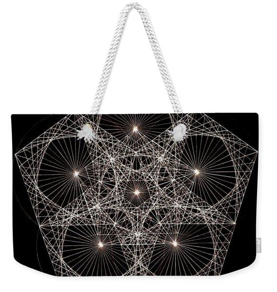 Quantum Star II Weekender Tote Bag